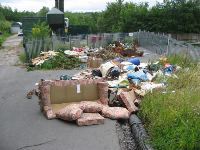 Almost £2million was spent cleaning up flytips