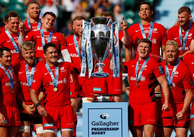 Saracens have been hit with a 35 point penalty and £5m fine