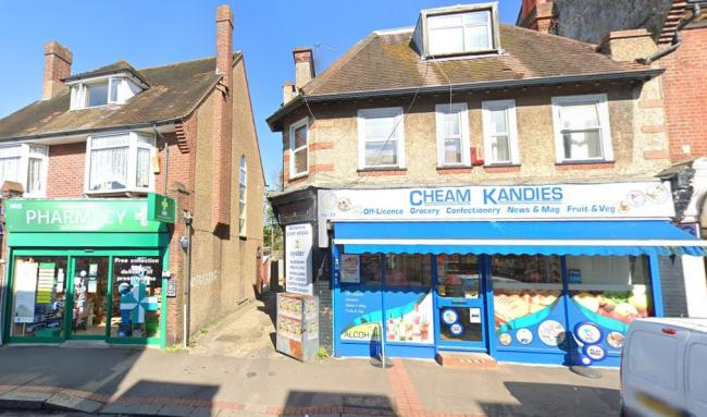 An off-licence, pharmacy and estate agents will be demolished
