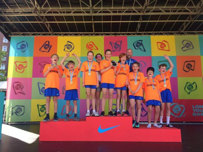 East Sheen Primary School won top prizes and represented the Richmond borough at the London Youth Games 2019.