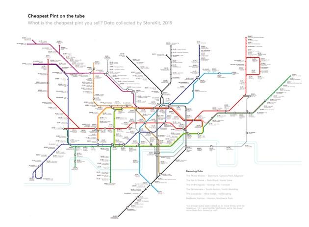 The infographic map was created by Adam Stead from StoreKit