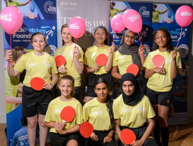 These girls can ping: students from Uxbridge High