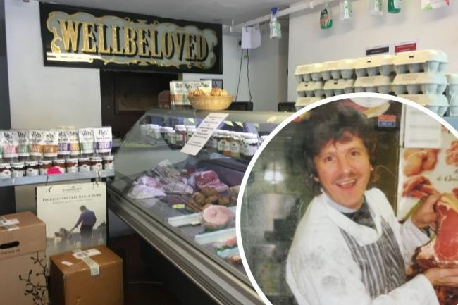 William Wellbeloved has been running the butchers for more than 40 years.