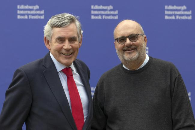 Gordon Brown and economist Branko Milanovic