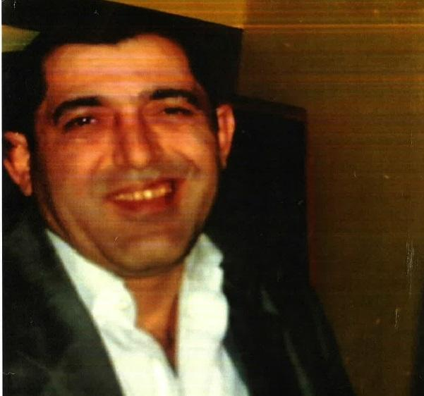 Cafar Aslan, pictured, was found collapsed in Westminster Road, near the junction of Bounces Road