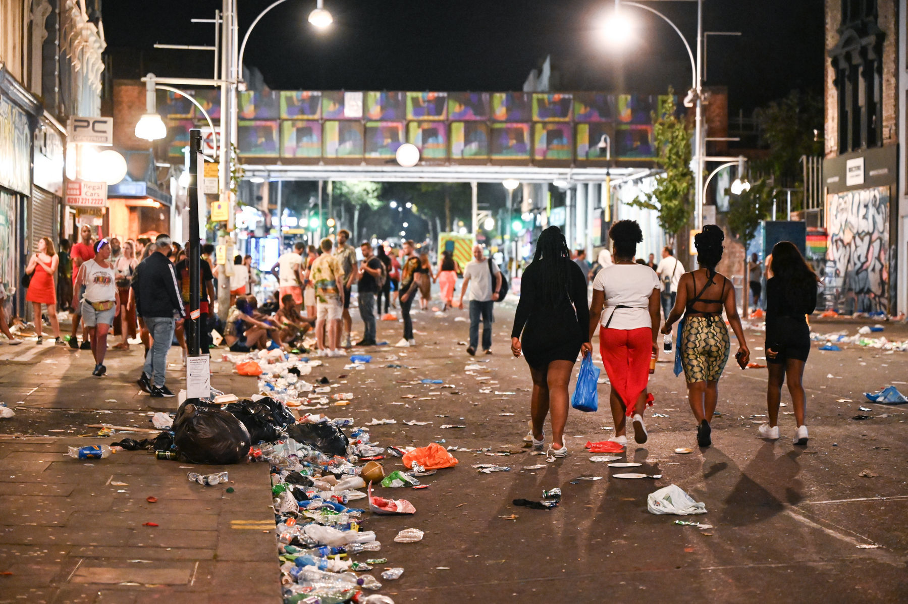 Commander statement after police assaulted at Notting Hill Carnival