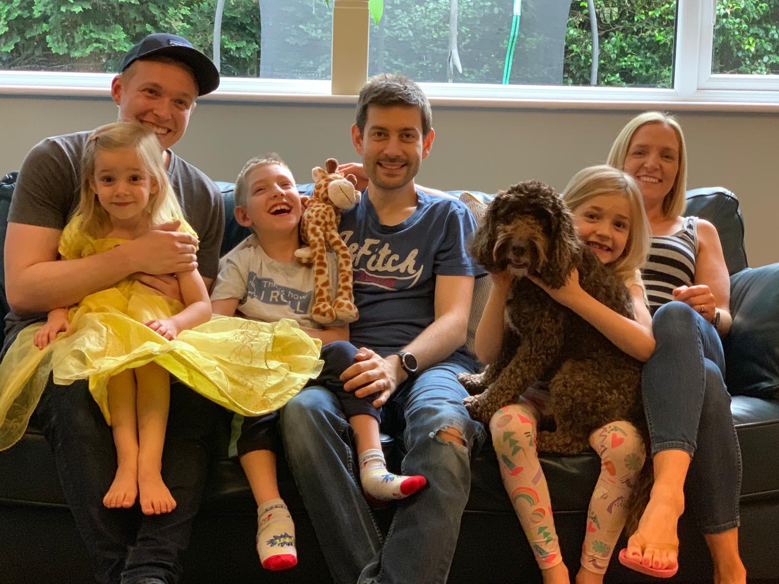 Petts Wood family to run half marathon for The Maypole Project