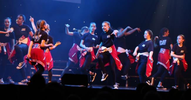 150 dancers of all ages and backgrounds took part in the third annual eNgage dance show