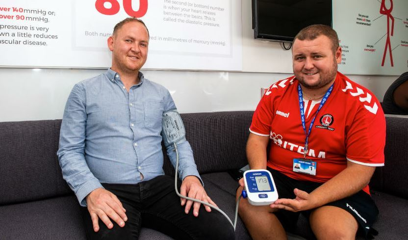 Greenwich blood pressure campaign celebrates its 10,000th check