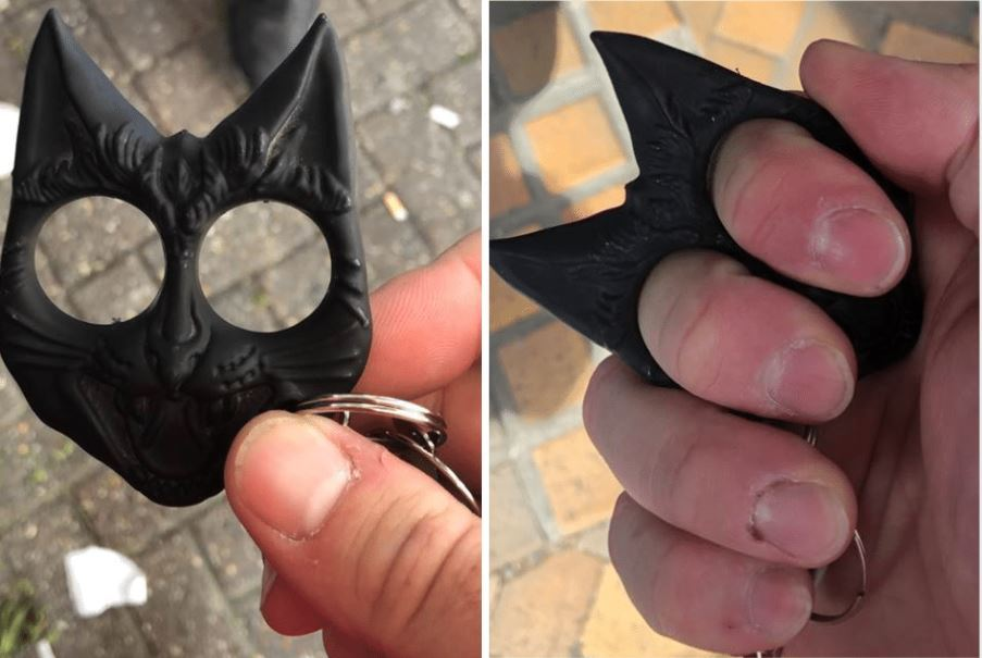 Bromley men charged after allegedly being found with knuckledusters