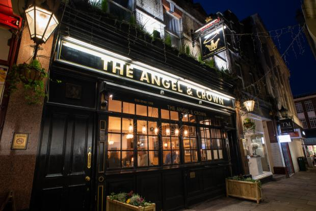 The Angel and Crown Pub allowed new opening times