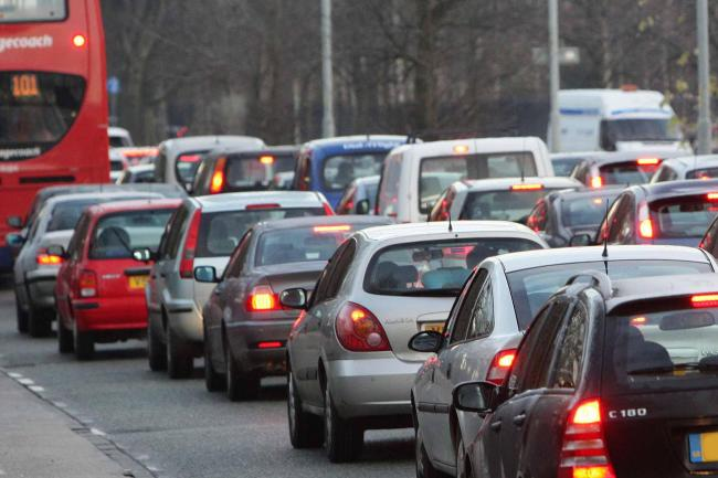 Rush hour delays for motorists this morning in London, Herts, and Essex