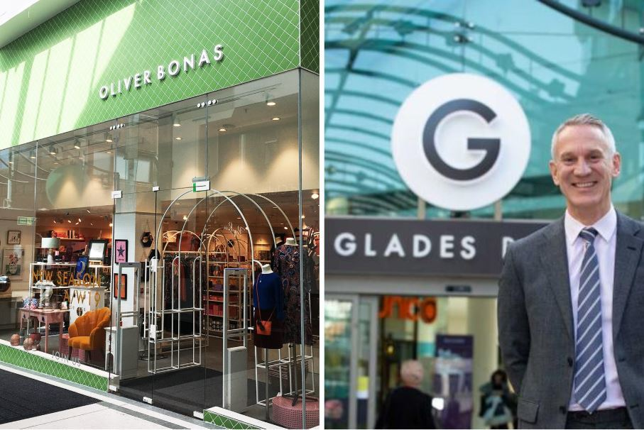 Oliver Bonas opens in The Glades shopping centre