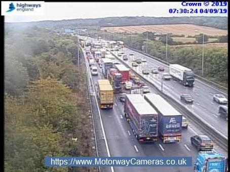 Severe delays on M25 and Met Line and no service on Northern line