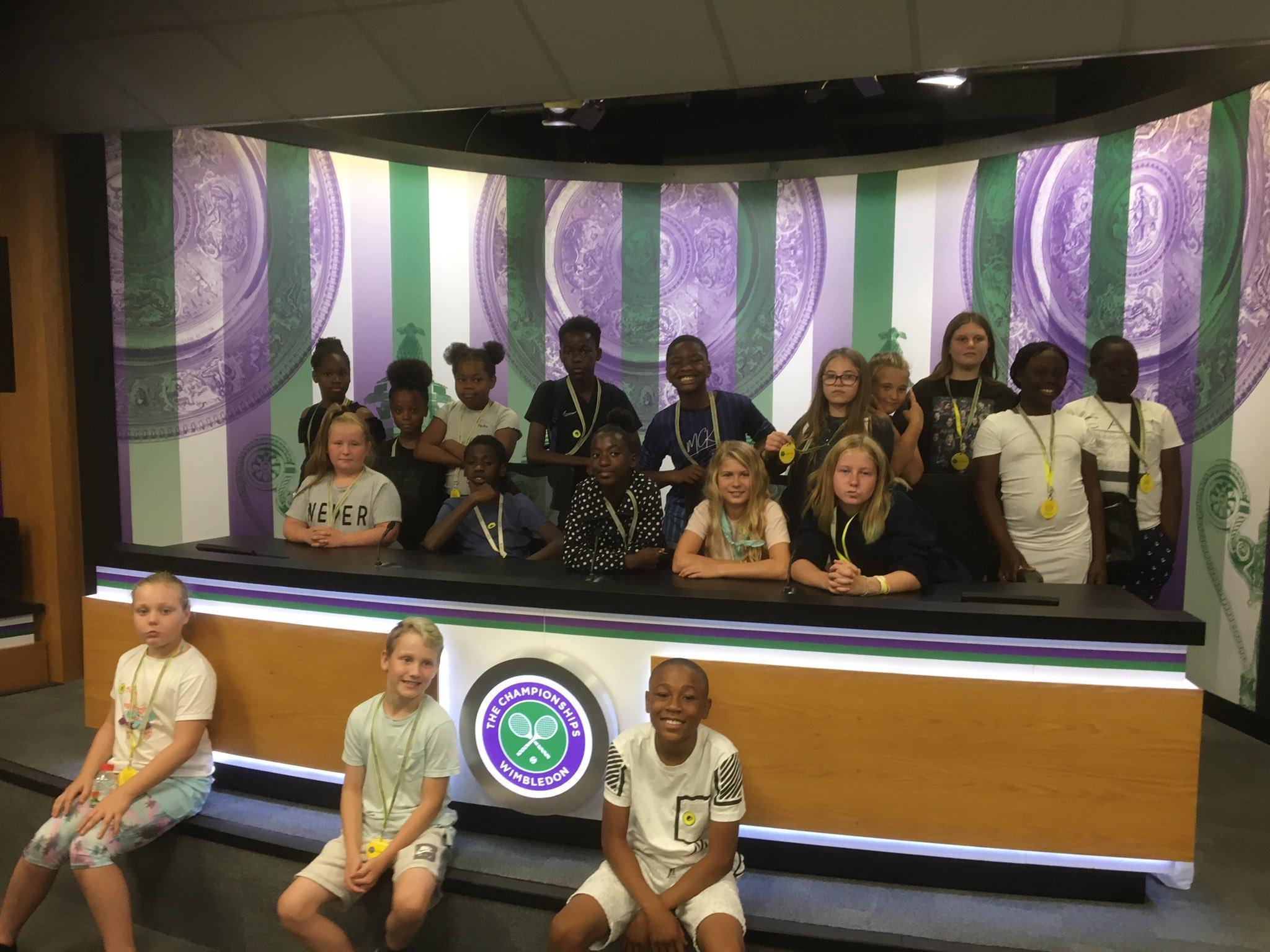 Mitcham kids get taste of tennis thanks to community project
