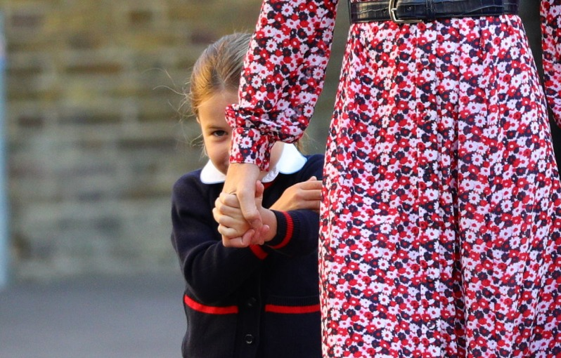 Charlotte 'very excited' about first day at Thomas's Battersea, says William