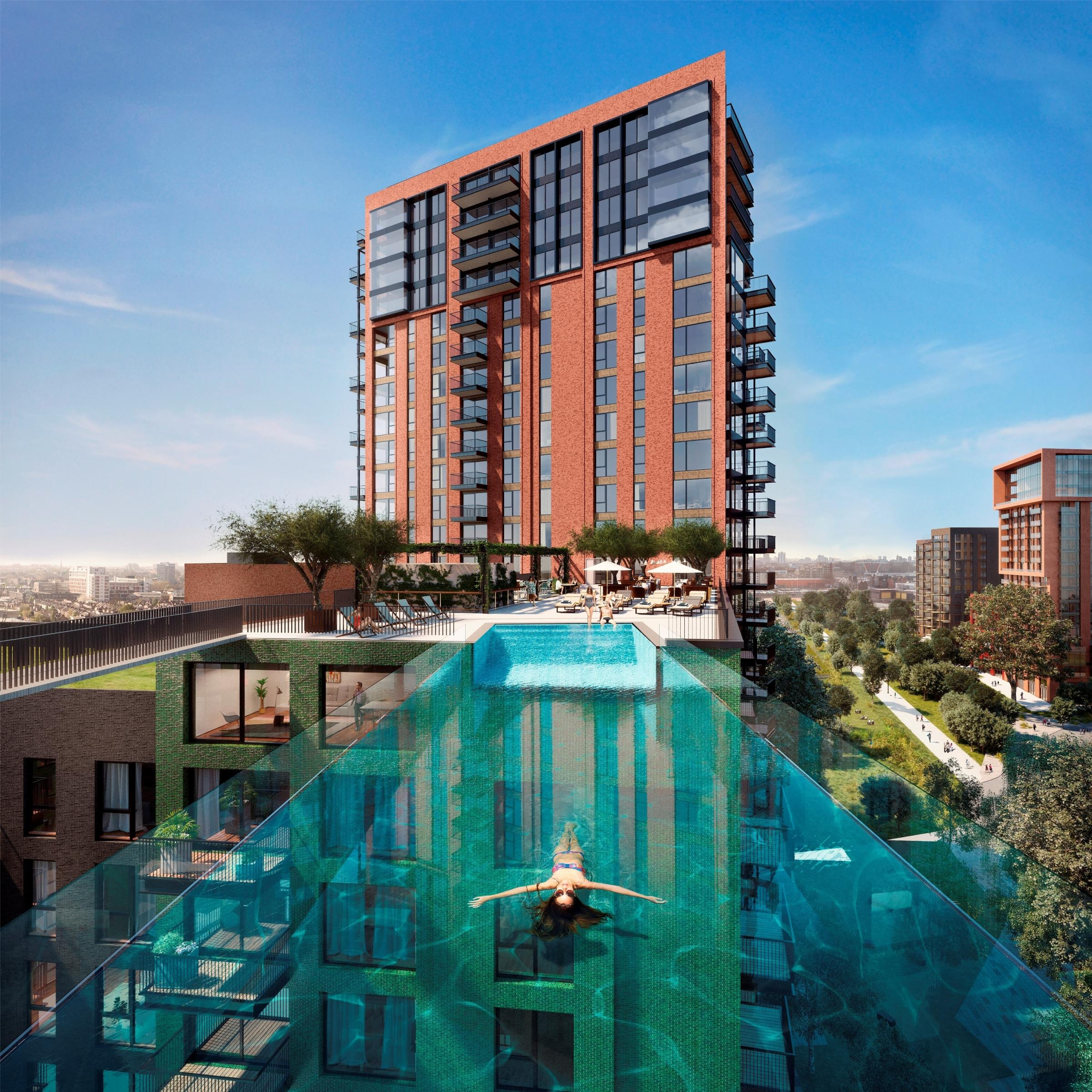 A sky pool TEN STOREYS HIGH could be coming to Nine Elms
