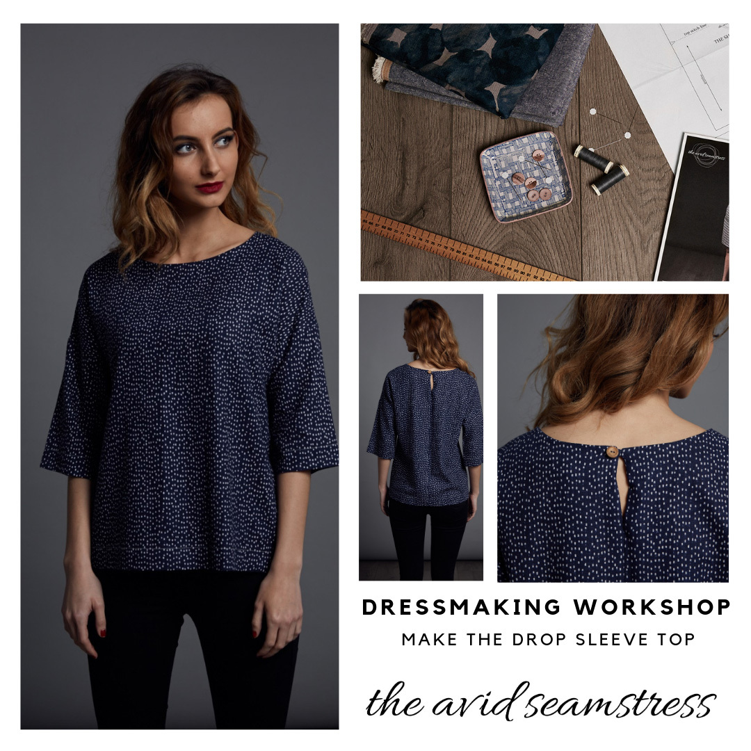 Learn how to make clothes at workshop by The Avid Seamstress