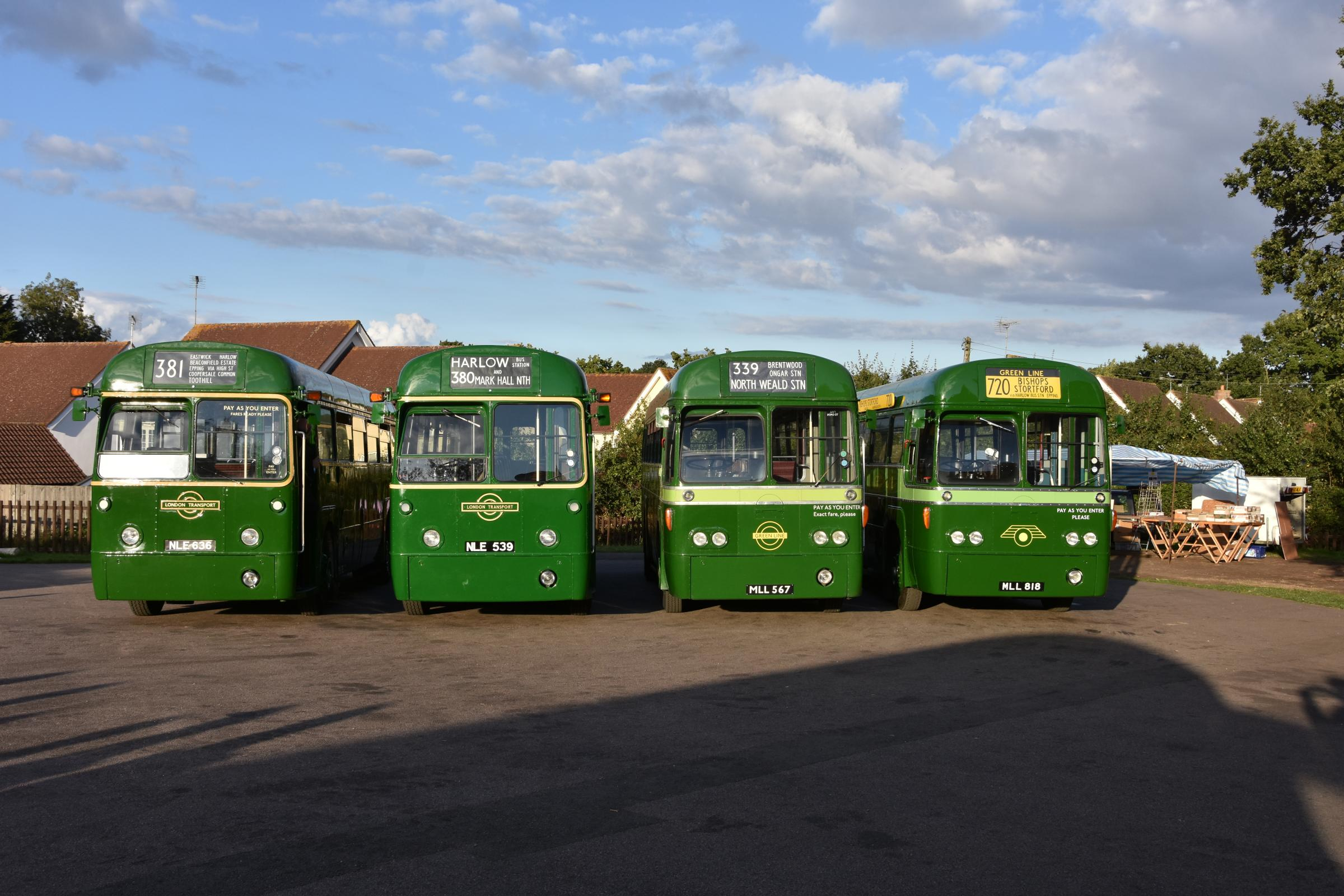Carry on buses - classic London models to parade across Epping Forest this weekend