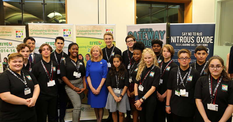 Drug report published by Epping Forest Youth Council praised by MPs