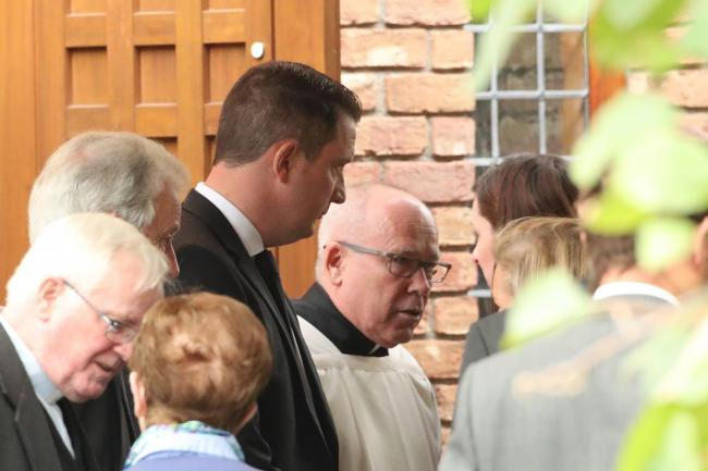 The funeral mass of Nora Quoirin at St Brigid's Church, Belfast