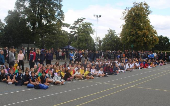 43 school teams took part in the netball and football festival at Chigwell School on Saturday, September 7