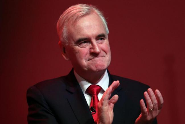 John McDonnell admitted shock after seeing the General Election exit poll