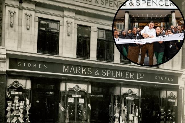 Marks and Spencers re-opens