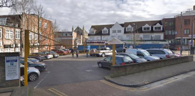 St John's car park (Photo: Harrow Council)