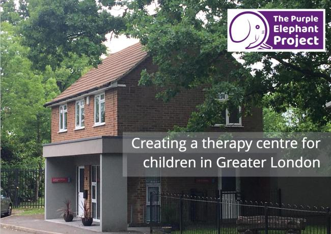 Fundraisers need to raise more than £25,000 to secure an ex-caretakers home which will be transformed into a childrens therapy centre.