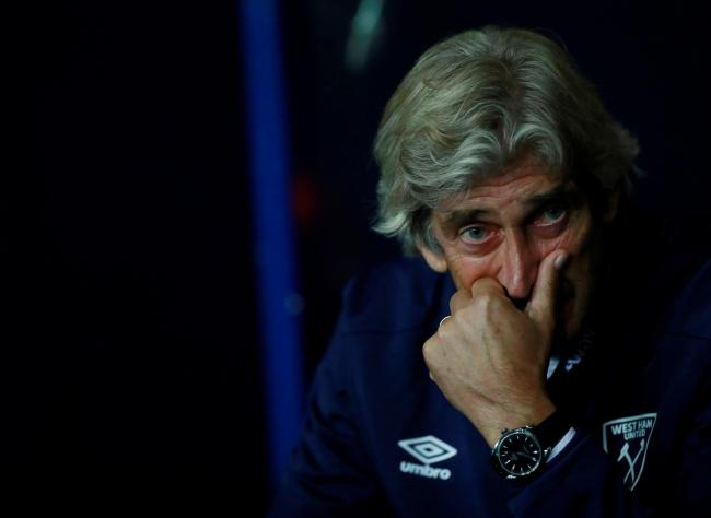 Manuel Pellegrini insists he puts most pressure on himself. Picture: Action Images