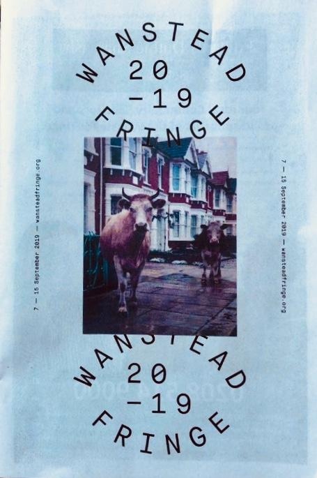 The Wanstead Fringe 2019 brochure sent to residents of Wanstead