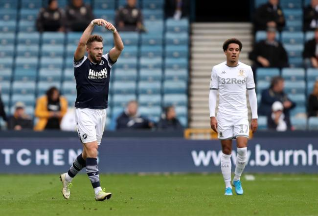 Bradshaw celebrates Millwall's second (PA)
