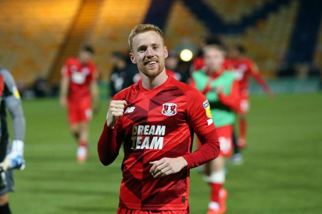 James Brophy scored the only goal as Leyton Orient beat Northampton Town in League Two. Picture: Simon O'Connor