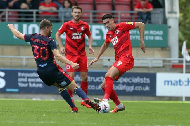 Conor Wilkinson made his return to the Leyton Orient team yesterday. Picture: Simon O'Connor