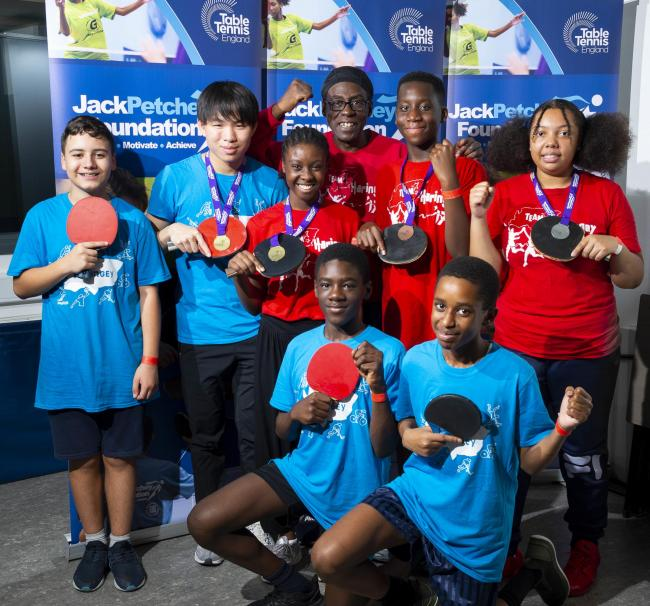 Haringey youngsters secured a good haul of medals at the Youth Club Table Tennis Festival in Tower Hamlets. Picture: Stephen Pover