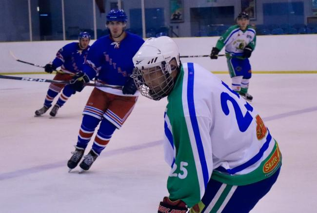 Robert Cole scored his first goal for Lee Valley Lions against Bristol Pitbulls. Picture: Tori Rigby