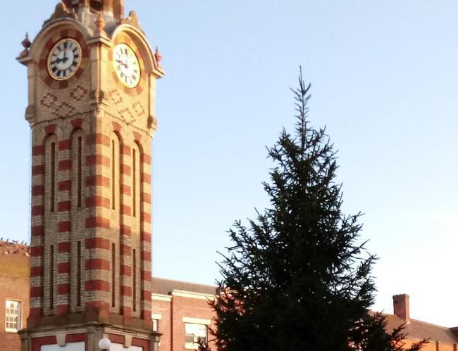 Epsom and Ewell 'ready' for big Xmas Lights Switch On Saturday. Image: EEBC