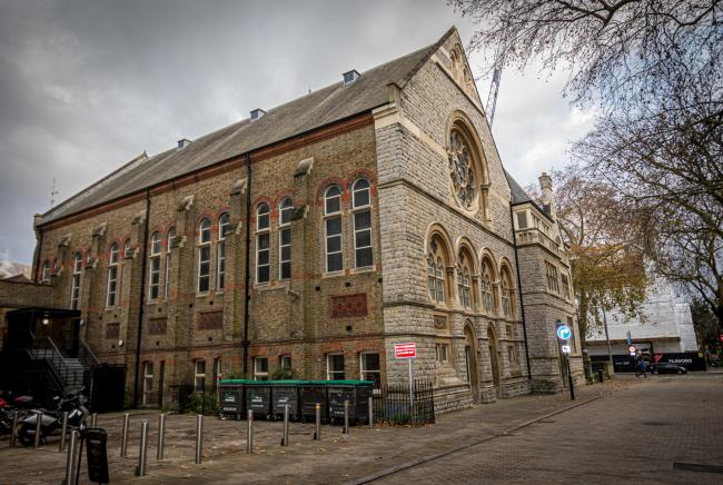 Under threat: campaigners say the hall should continue to be used by Ealing people