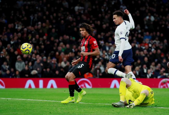 Dele Alli scored twice in Spurs' win against Bournemouth on Saturday. Picture: Action Images