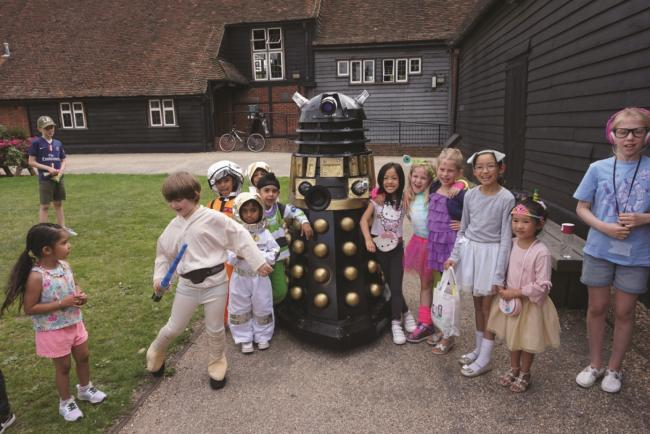 Space camp: children enjoyed this activity at the Great Barn in Ruislip
