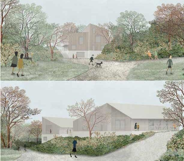 An impression of Capel Manor College\'s plans for the revamped farm site. Picture: Capel Manor College