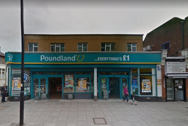 The site is currently occupied by Poundland (Image: Google Maps)