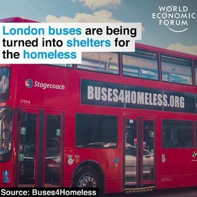 Home on wheels: a specially-adapted bus for the homeless