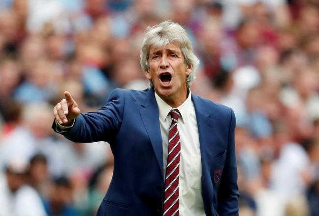 Manuel Pellegrini was axed following the defeat to Leicester. Picture: Action Images