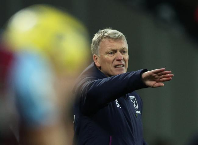 Frustrated: David Moyes. Picture: Action Images