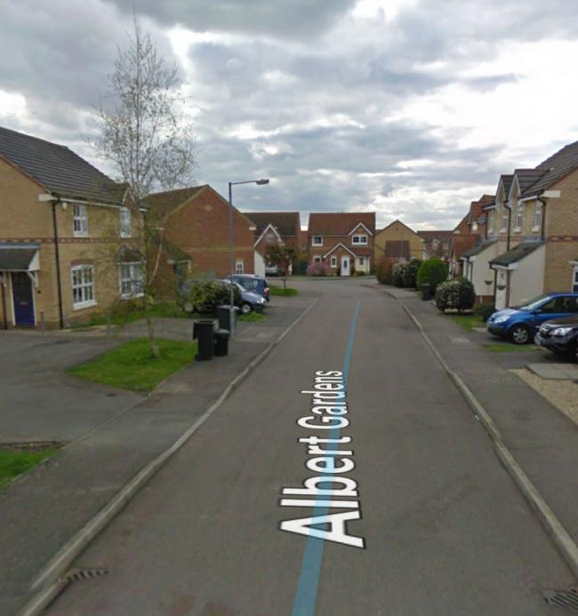 The incident happended at an address on Albert Gardens, Church Langley at around 2am on Thursday, January 16