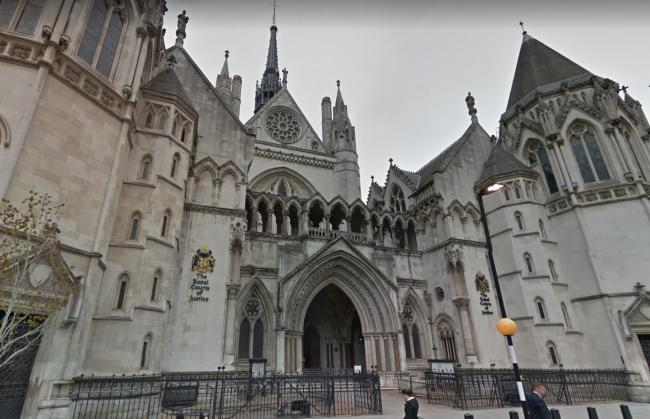 The Court Of Appeal in London.