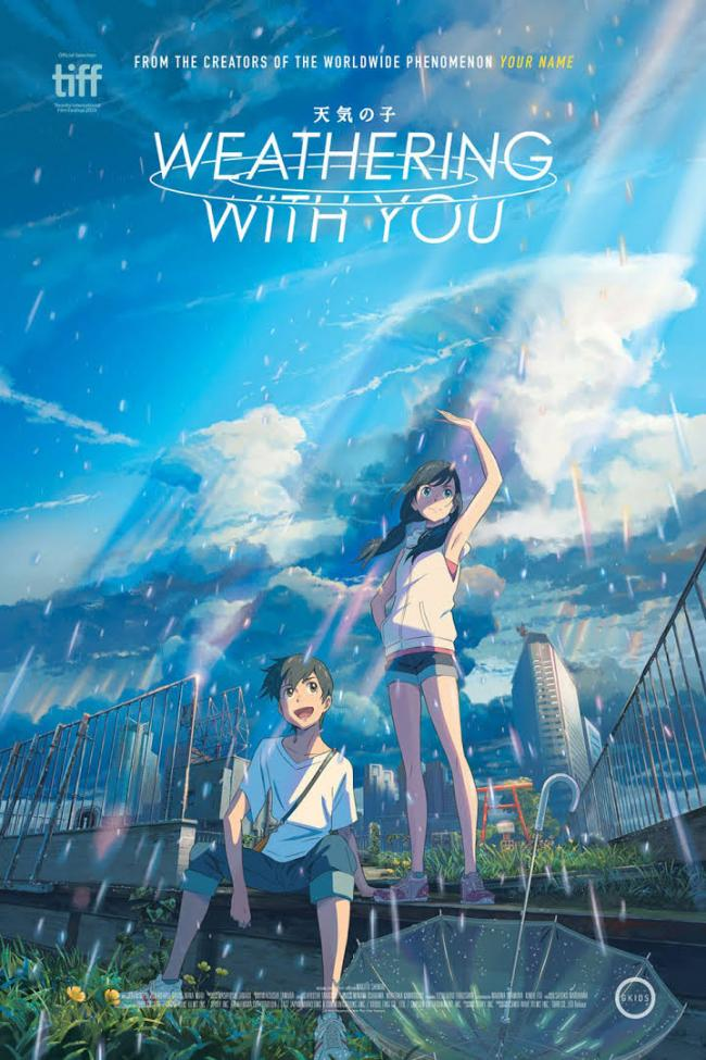 'Weathering with You' film poster