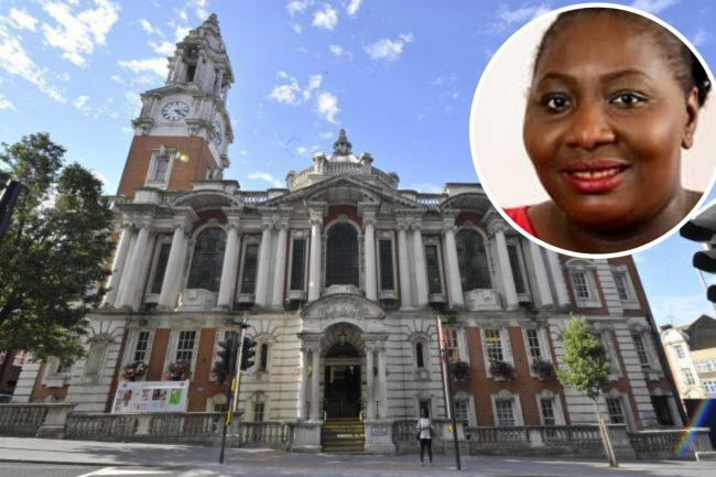 Cllr Tonia Ashikodi has been found guilty of two counts of property fraud.